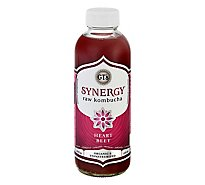 GTs Enlightened Kombucha Organic & Raw Heart Beet - 16 Fl. Oz.