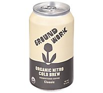 Groundwork Organic Nitro Cold Brew - 12 Fl. Oz.
