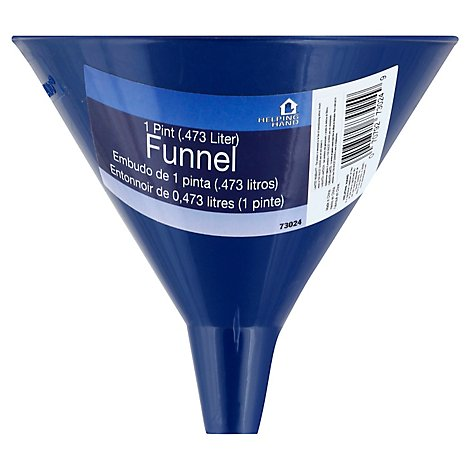 Helping Hand 1 Pint Funnel - Each