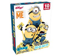 Kelloggs Fruit Flavored Snacks Assorted Despicable Me 3 10 Count - 8 Oz