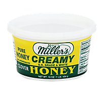 Millers Honey Clover Creamy - 16 Oz