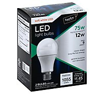 Bright Green LED Bulb 75w Day Light - 2 Count