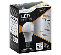 Bright Green LED Bulb 100w Day Light - 2 Count