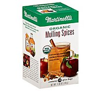 Martinellis Organic Mulling Spices 20 Count - 1.90 Oz