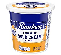 Knudsen Hampshire Sour Cream - 24 Oz
