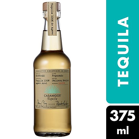 Casamigos Tequila Reposado 80 Proof - 375 Ml