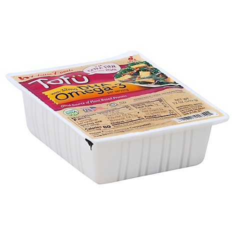 House Foods Tofu With Omega 3 Extra Firm - 12 Oz
