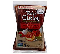 House Foods Tofu Cutlet Spicy Garlic - 6 Oz