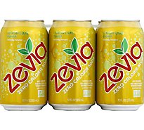 Zevia Soda Zero Calorie Lemon Lime Twist - 6-12 Fl. Oz.