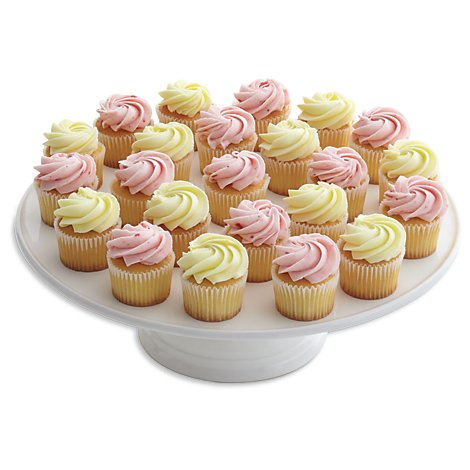Bakery Cupcake Mini Platter 30 Count - Each