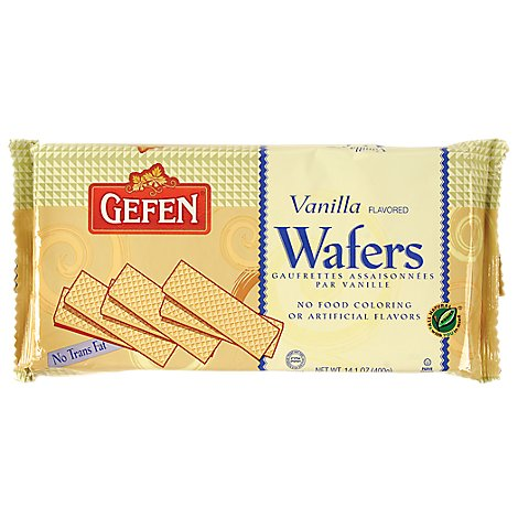 Gefen S/F Wafer Vanilla - 14.1 Oz