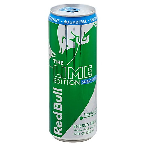 Red Bull Lime Edition - 12 Fl. Oz.
