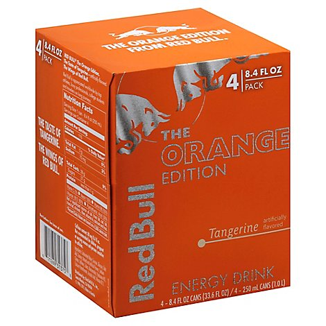 Red Bull Orange Edition - 4-8.4 Fl. Oz.