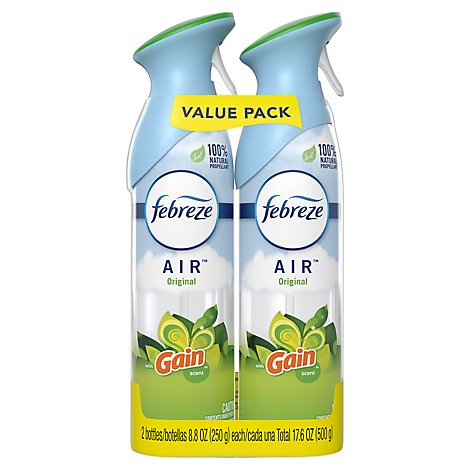 Febreze AIR Air Freshener Original with Gain Scent - 2-8.8 Oz