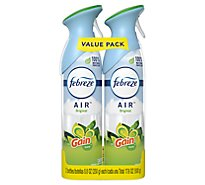 Febreze AIR Air Freshener Odor Eliminating Original With Gain Scent Value Pack - 2-8.8 Oz