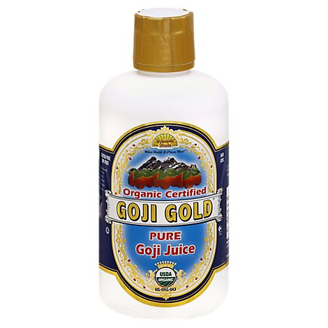 Dynamic Health Organic Juice Goji Gold - 32 Fl. Oz.
