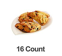 Bakery Scone Mini Blueberry 16 Count - Each