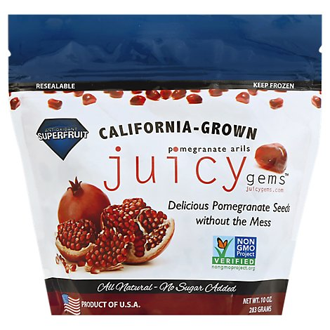 Juicy Gems Pomegranate Seeds - 10 Oz