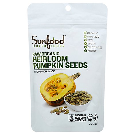 Heirloom Pumpkin Seeds - 8 Oz