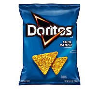 Doritos Tortilla Chips Cool Ranch - 9.75 Oz