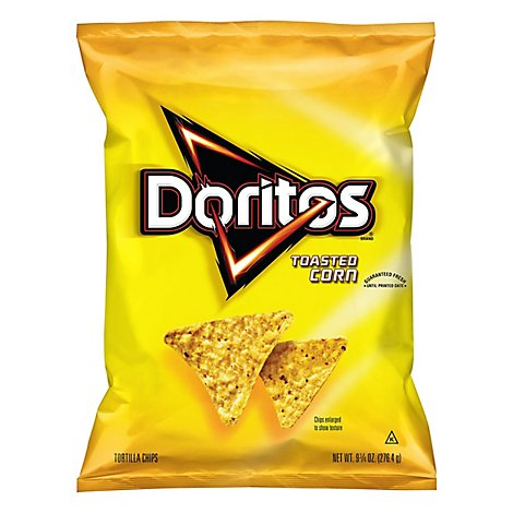 Doritos Tortilla Chips Toasted Corn - 9.75 Oz