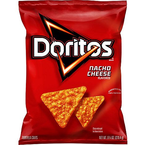 Doritos Tortilla Chips Nacho Cheese - 9.75 Oz