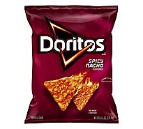 Doritos Tortilla Chips Spicy Nacho - 9.75 Oz