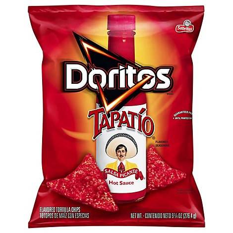 Doritos Tortilla Chips Tapatio - 9.75 Oz