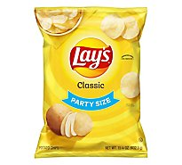 Lays Potato Chips Classic Party Size! - 15.25 Oz