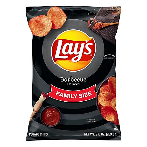 Lays Potato Chips Barbecue - 9.5 Oz