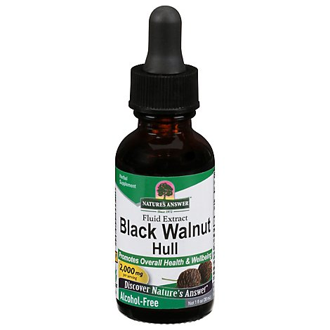 Natures Answer Afs Black Walnut - 1 Oz