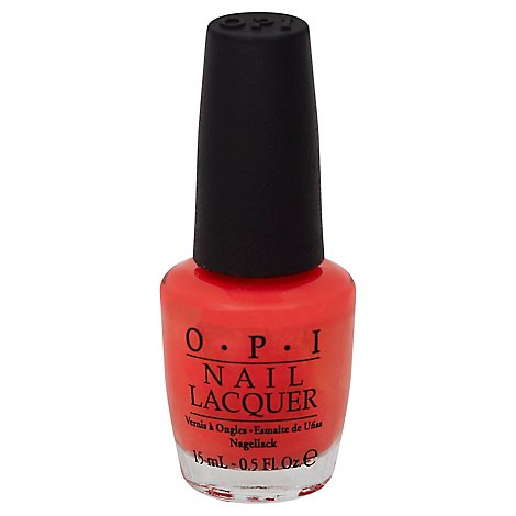 Opi I Eat Mainly Lobster - .5 Fl. Oz.