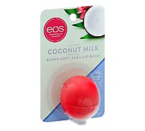EOS Visibly Soft Lip Balm Sphere Coconut Milk - 0.25 Oz