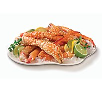 Seafood Service Counter Crab King Leg & Claw Previously Frozen 9 to 12 Count - 0.75 Lb