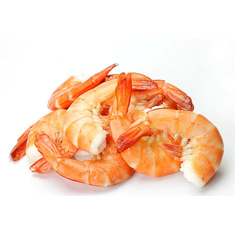 Seafood Counter Shrimp Raw Previously Frozen Large 31 To 40 Count - 1 Lb