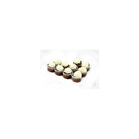 Bakery Cupcake Chocolate Buttercreme 10 Count - Each