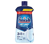 Finish Jet Dry Rinse Aid 5x Power Shine & Protect Bottle - 23 Fl. Oz.