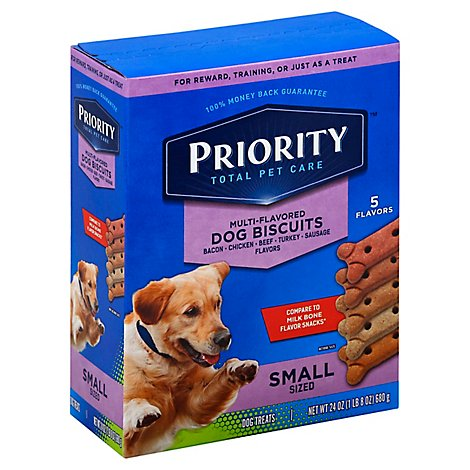 Signature Pet Care Dog Biscuits Multi Flavored Small Sized - 24 Oz