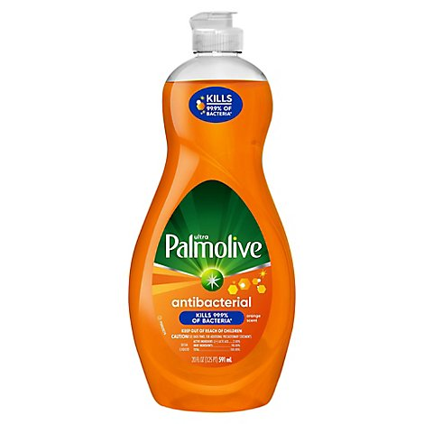Palmolive Ultra Dish Liquid Antibacterial Orange - 20 Fl. Oz.