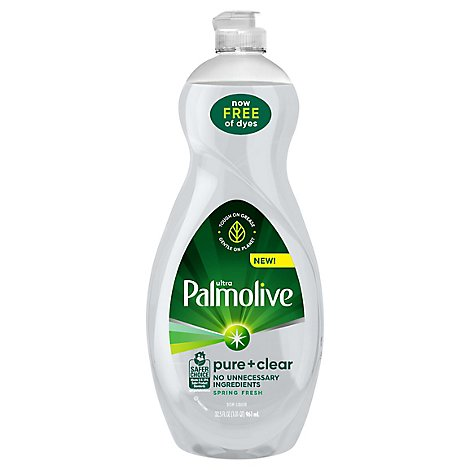 Palmolive Ultra Dish Liquid Pure + Clear - 32.5 Fl. Oz.