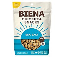 BIENA Chickpea Snacks Roasted Sea Salt - 5 Oz