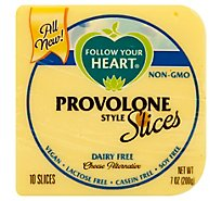 Follow Your Heart Dairy Free Provolone Slice Cheese Alternative - 7 Oz