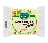 Follow Your Heart Dairy Free Mozzarella Slice Cheese Alternative - 7 Oz