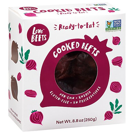 Love Beets Peeled Cooked Beets - 8.8 Oz