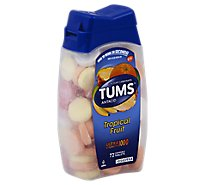 Tums Antacid Tablets Chewable Ultra Strength 1000 Tropical Fruit - 72 Count