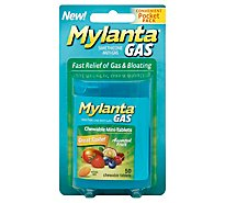 Mylanta Mini Tabs Assorted - 50 Count