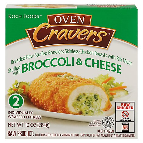 Oven Cravers Broccoli And Cheese - 10 Oz