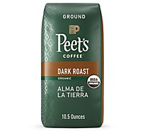 Peets Coffee Coffee Ground Deep Roast Alma de la Tierra - 10.5 Oz