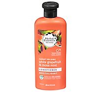 Herbal Essences Bio Renew Conditioner Volumizing White Grapefruit & Mosa Mint - 13.5 Fl. Oz.