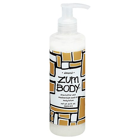Zum Body Body Lotion Almond - 7 Fl. Oz.
